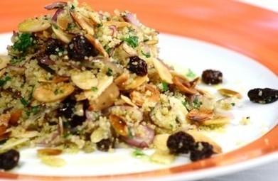 Cuscuz marroquino com amêndoas e uvas-passas | Panelinha - Receitas que funcionam | Receitas da Lia | Scoop.it