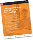 """New E-Book: """"The 4 Cornerstones of an Effective CRO Strategy"""" 