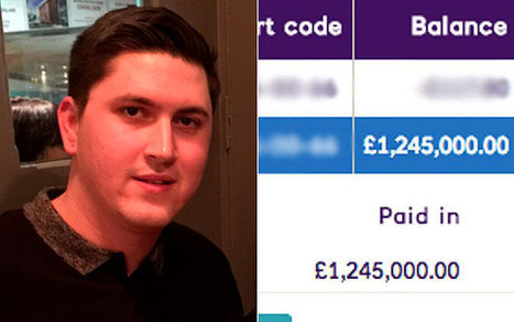 Honest customer alerts NatWest after banking error makes him a millionaire (for 10 days) | Strange days indeed... | Scoop.it