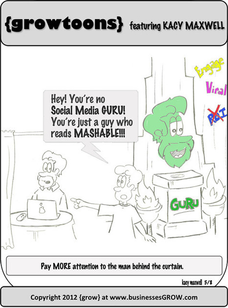 They'll get you my pretty… A {growtoon}   Social Media Thought Leaders,Thoughts Worth Reading, and Curation Resources   Scoop.it