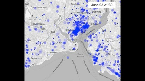 Mapping #occupygezi #direngeziparki Tweets | e-Xploration | Scoop.it