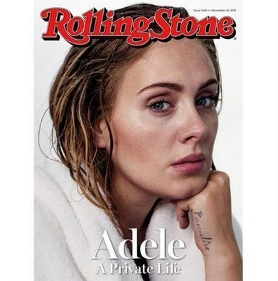 People: Adéle pose sans maquillage a la Une de Rolling Stone ! - Cotentin webradio actu buzz jeux video musique electro  webradio en live ! | cotentin webradio Buzz,peoples,news ! | Scoop.it