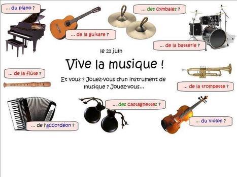 En avant la musique ! | Ressources pour apprendre ou enseigner le FLE | Scoop.it