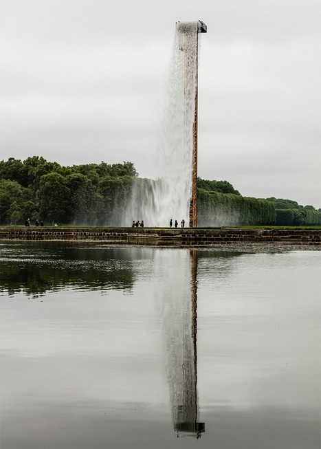 Artist Installs a Giant Gushing Waterfall in the Middle of the Palace of Versailles Gardens | Le Panda De Cina ✪ | Scoop.it