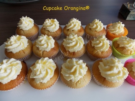 Cupcake Orangina® | Croquant Fondant Gourmand | Cupcakes en France | Scoop.it