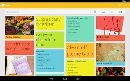 Using Google Keep in the Classroom | 21st Century Teaching and Learning | Scoop.it