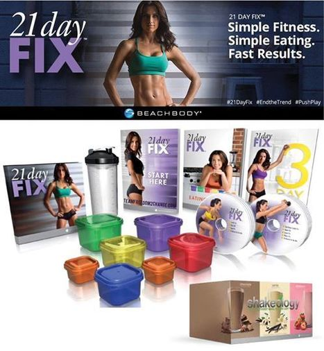 21 Day Fix Color Coded Containers<br/>With 21 Day Fix there&rsquo;s... | Exercise Equipment and Fitness Products | Scoop.it