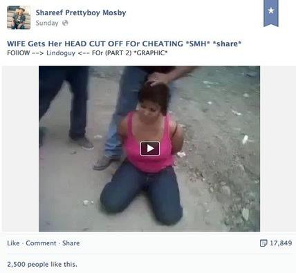 Facebook: Breasts are evil, beheadings aren't. | Web 2.0 et société | Scoop.it