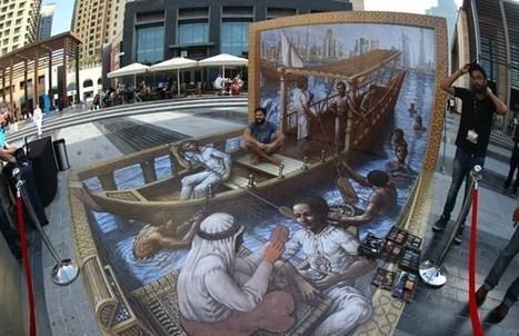 Dubai launches region's first 3-D pavement art festival | Arabian Peninsula | Scoop.it