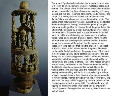 Yoruba Art & Culture | Arte Africano Antiguo: La Cultura Yoruba | Scoop.it
