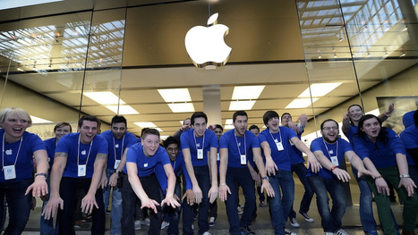 Retail Therapy: Inside the Apple Store - Gizmodo | retail & sales | Scoop.it
