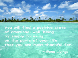 Happiness & The Gratitude Mindset | GenaLivings.com ~ Healthy ... | Inspired to Live | Scoop.it