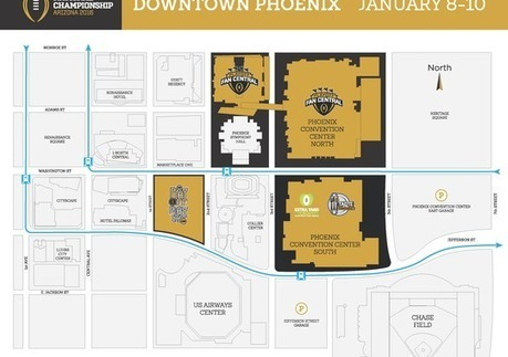 College football playoffs will kick off in downtown Phoenix | Mirage Limousines | Scoop.it