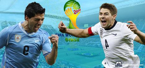 Pronostics Uruguay - Angleterre : Groupe D - Coupe du Monde 2014 | Paris sportifs et pronostics | Scoop.it