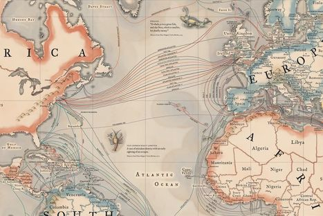 A map of all the underwater cables that connect the internet | Human Geography Too | Scoop.it