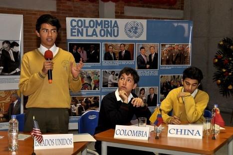 Se inaugura SIMONU Bogotá, la mayor simulación de Naciones Unidas en Colombia | Educación | Scoop.it