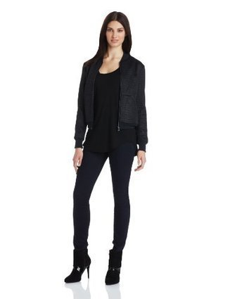 Kenneth Cole Women's Carey Jacket, Basalt/Black, X-Small | Big Deals Fashion Today | Scoop.it