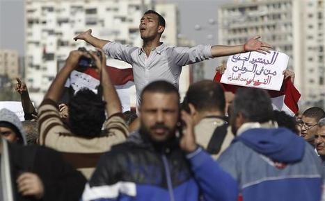 Thursday Protest planned by Egyptian intellectuals to push for freedoms in the Constitution   Égypt-actus   Scoop.it
