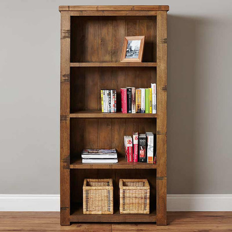 Solid Wood Bookcases With Some Ways To Choose The Best | Shopping Corner | Scoop.it