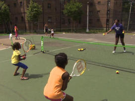 Video: Tennis program changes lives of inner-city youth | AP HUMAN GEOGRAPHY DIGITAL  STUDY: MIKE BUSARELLO | Scoop.it