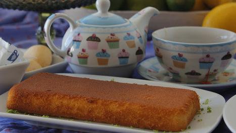 Recette de gâteau à la rhubarbe, sans gluten, léger en calories (Danemark) | Desserts street food | Scoop.it