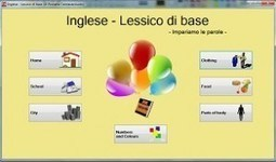 Lessico di base, Inglese, Francese – Italiano Lingua2 | PAIDEIA 2.0 ... | Lingua italiana | Scoop.it