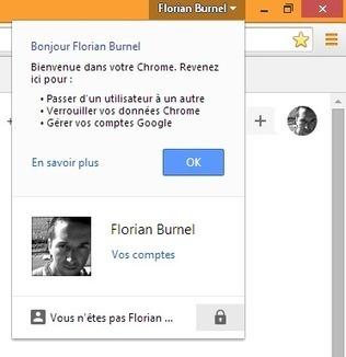 Comment verrouiller son compte Google dans Chrome ? | Time to Learn | Scoop.it