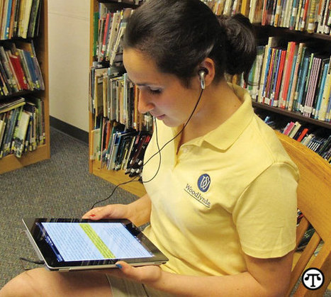 Text Synched With Audiobooks Improves Reading - North American Press Syndicate | Eagle Hill Southport | Scoop.it