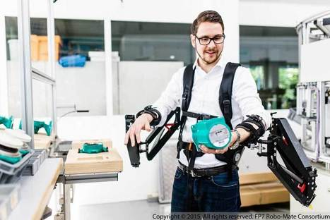 Body-enhancing exoskeletons could be stepping into industrial trials next year | Robohub | Emerging Technology | Scoop.it