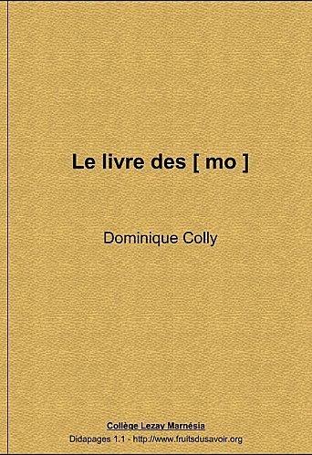 Le livre des [ mo ] | Remue-méninges FLE | Scoop.it