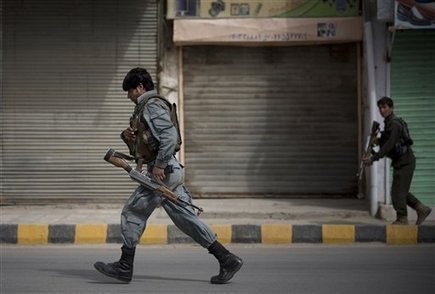 Afghan forces kill 3 insurgents in fierce firefight at former intel HQ in ... - U.S. News & World Report | AfPak Commentary | Scoop.it