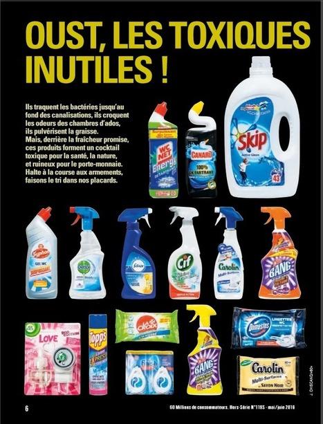 Substances toxiques : les pires produits ménagers à éviter | Toxique, soyons vigilant ! | Scoop.it