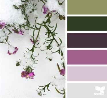 Design Seeds® | for all who ❤ color | frosted flora | Webdesign Glance | Scoop.it