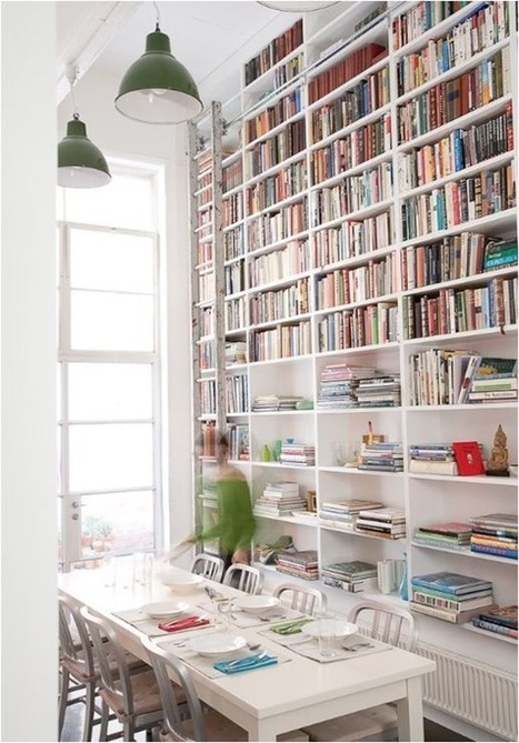 Centsational Girl » Blog Archive » Design Crush: Dine-In Libraries | Creating Library Learning Commons | Scoop.it