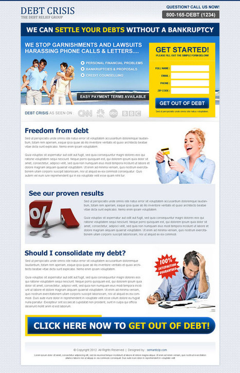 Landing page design and optimization to improve conversion rate | Converting Landing Page Design | CRO | Scoop.it