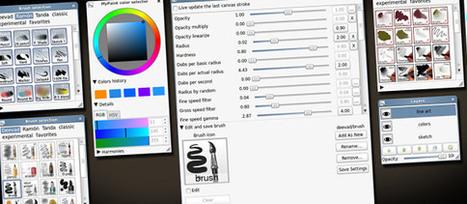 MyPaint, un logiciel de dessin intéressant avec une tablette graphique | Moisson sur la toile: sélection à partager! | Scoop.it