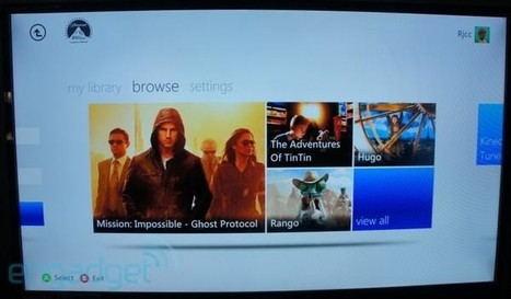 Paramount Movies Ultraviolet app released for Xbox 360 | Video Breakthroughs | Scoop.it