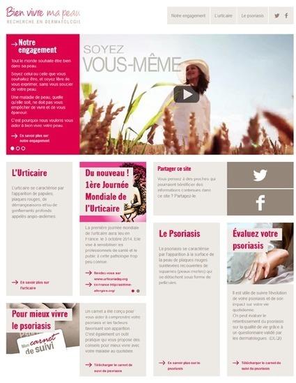 Novartis lance un nouveau site web en dermatologie : Bien vivre ma peau   Marketing digital des laboratoires pharmaceutiques   Scoop.it