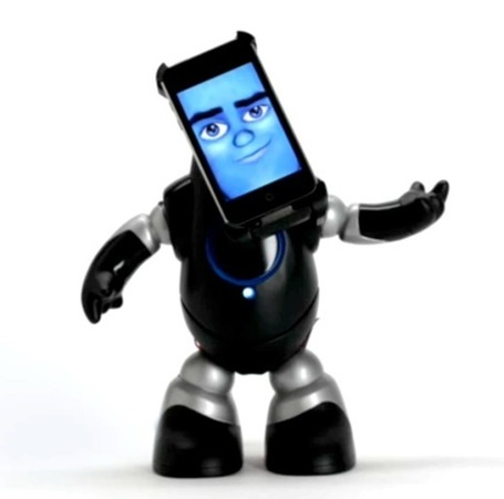 iPhone robot is an alarm clock with attitude : Gizmo Tech News | All Geeks | Scoop.it