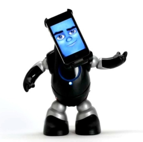 iPhone robot is an alarm clock with attitude : Gizmo Tech News | It is all a Journey. | Scoop.it