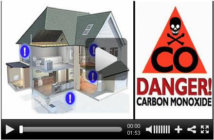 """VIDEO: Carbon Monoxide """"CO"""" Detector Facts, Installing Them Is A SMART Idea."""