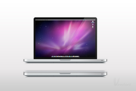 Create a Semi-Realistic MacBook Pro from Scratch in Photoshop | The Official Photoshop Roadmap Journal | Scoop.it