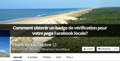 Disponibilité du badge de vérification pour Les Pages Facebook locales en France | Réseaux sociaux pour l'entreprise | Scoop.it