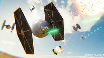 StarWar Tie Fighter 3D | 3D Library | Scoop.it
