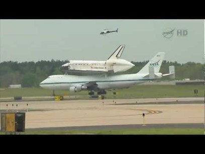 Shuttle Discovery Arrives At Washington D.C. | Work From Anywhere | Scoop.it