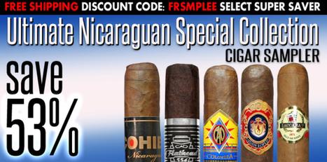 Top Cigar - Unlimited Nicaraguan Cigar Sampler   Tobacco Products   Scoop.it