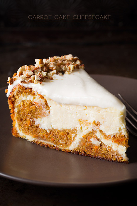 Carrot Cake Cheesecake - Cooking Classy   recipes   Scoop.it