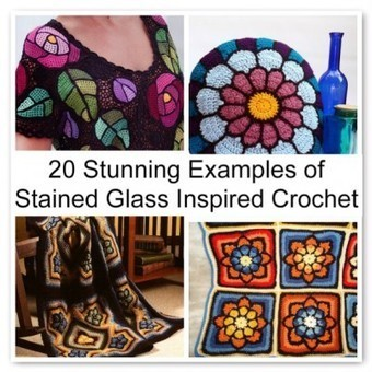 stained glass crochet | Artistic crocheting-knitting and more | Scoop.it