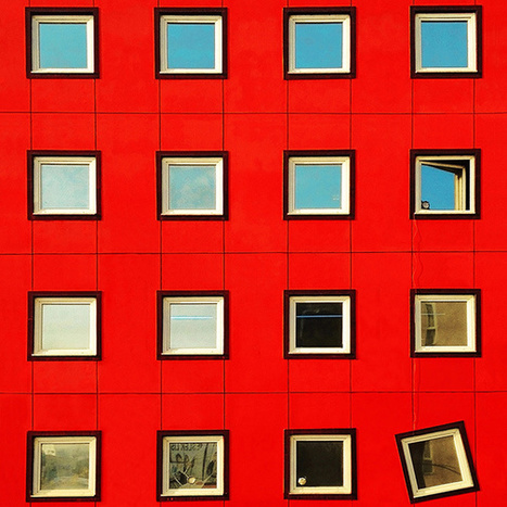 It's Nice That : Istanbul's impossibly colourful MINIMALIST architecture, shot by Yener Torun | The Architecture of the City | Scoop.it