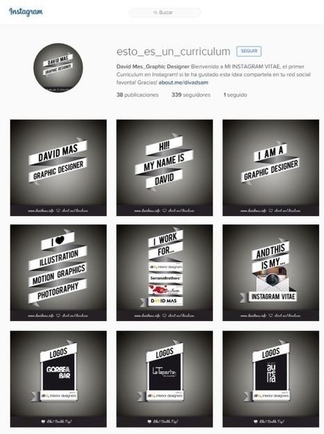 Haz que el empleo te encuentre en Instagram | Valientes y Emprendedores | Scoop.it